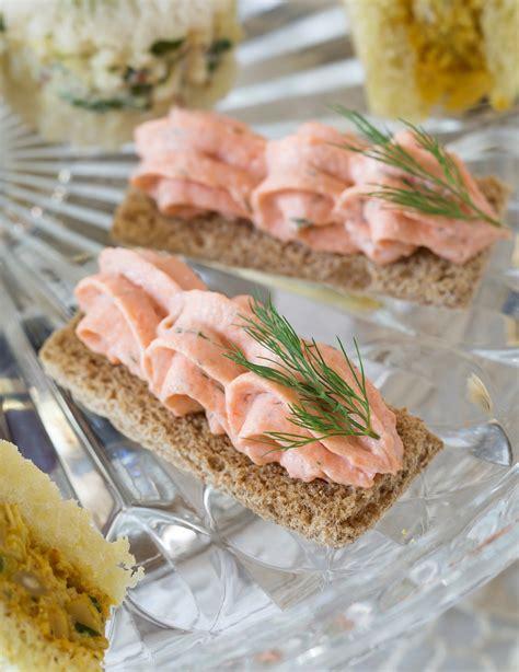 mousse canape dilled salmon mousse canapés teatime magazine