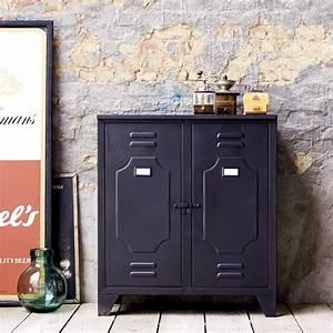 Meuble Industriel Vintage : meuble industriel en m tal ~ Nature-et-papiers.com Idées de Décoration
