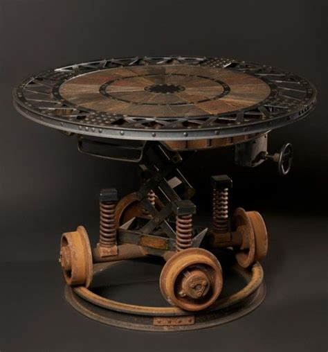 Steampunk Table Steampunk Pinterest Furniture