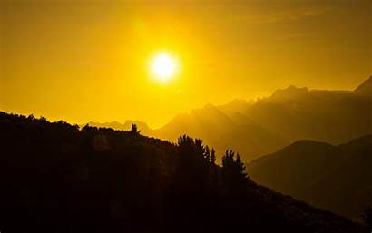 Sun Dark Mountains Wallpapers Resolutions