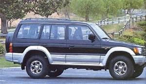 1992 - 1995 Mitsubishi Montero