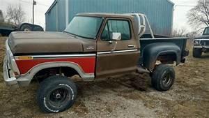 1979 F150 4wd Shortbed Stepside For Sale