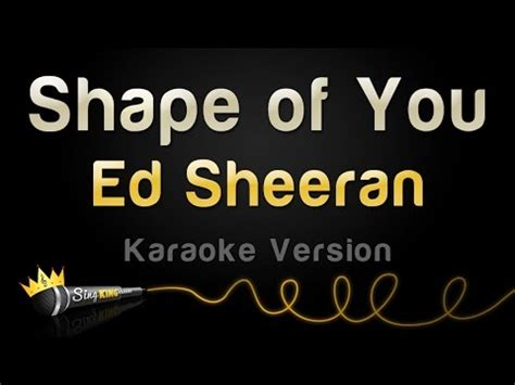 Download Ed Sheeran  Shape Of You (karaoke Version) In