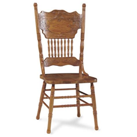 Unfinished Furniture Kitchen Island - dining chairs double press back oak chair 1c04 502 icfs nationalfurnishing com