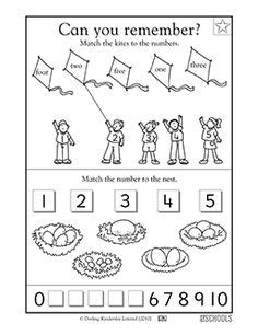counting  circling objects worksheet preschool