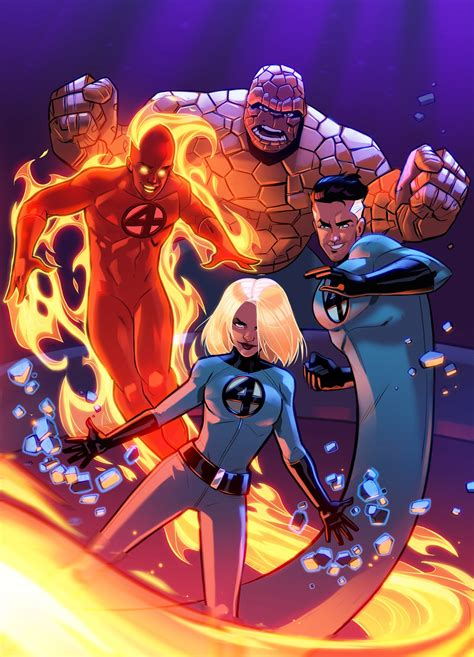 The First Family of Marvel: The Fantastic Four ...