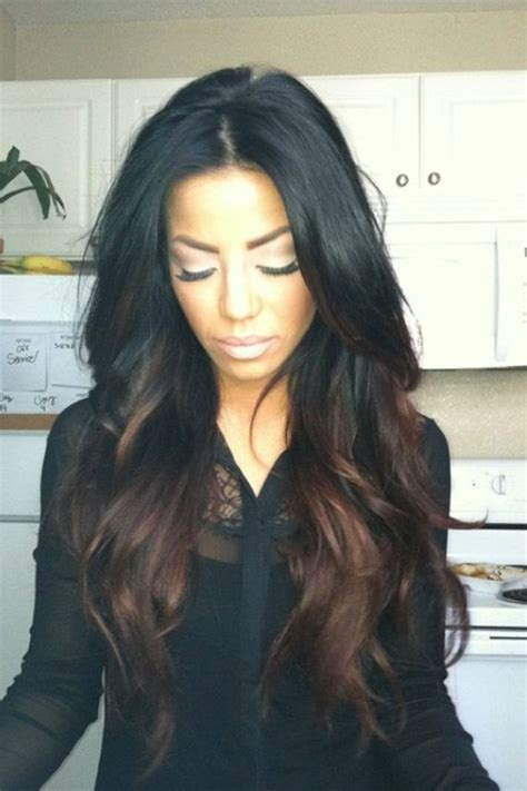 Black Brunettes by 13 Fabulous Highlighted Hairstyles For Black Hair Pretty