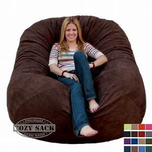 Bean Bag Chairs : bean bag chairs by cozy sack premium xl 6 39 cozy foam chair factory direct ebay ~ Orissabook.com Haus und Dekorationen