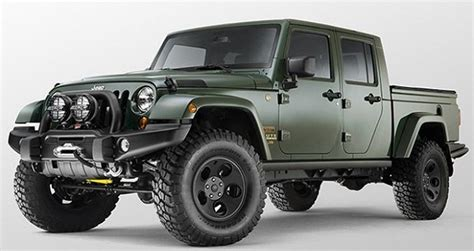 jeep wrangler pickup truck   trucks