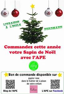 Vente Sapin De Noel : commandez votre sapin aupr s de l 39 ape ape cole du grand ~ Melissatoandfro.com Idées de Décoration