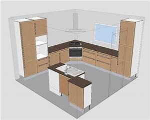 Plan De Cuisine Gratuit : cuisine ikea tidaholm r alisation caisson angle pour ~ Melissatoandfro.com Idées de Décoration