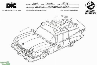Ghostbusters Coloring Sheets Ecto Pages Colouring Characters
