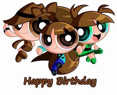 Jerimin19 Deviantart Brown Birthday Gift Chicas Powerpuff