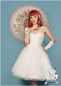 50s pin up bride oh my honey bridal fashion With pin up style wedding dresses