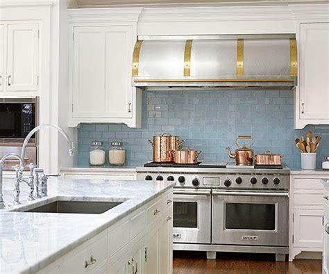 Glass Kitchen Backsplash Pictures by Glass Tile Backsplash Pictures Better Homes Gardens