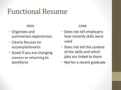 Chronological Resume Pros And Cons by Resume Basics For Blackboard