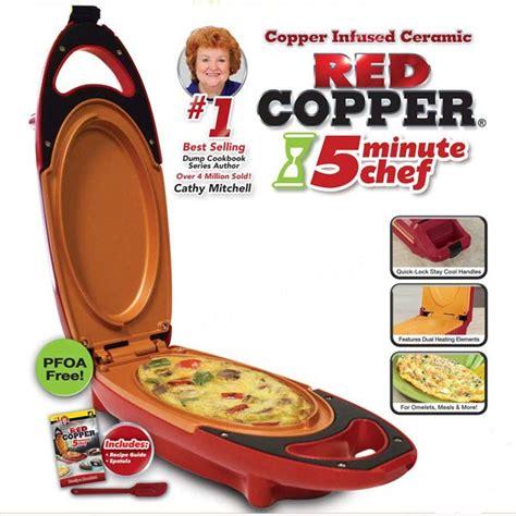 red copper  minute chef    tv