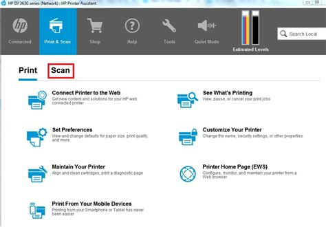 Have you tried hp officejet pro 8610 printer driver? Scanning to the computer from Officejet Pro 8610 - HP ...