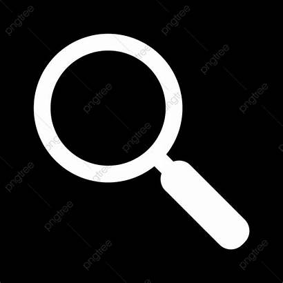 Icon Vector Magnifying Glass Background Clipart Transparent
