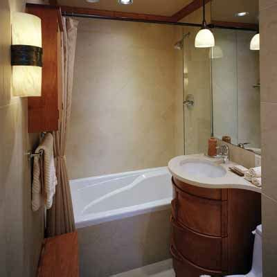 small  simple  big ideas  small bathrooms