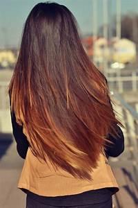 Balayage Cheveux Frisés : balayage caramel sur brune cheveux raides ~ Farleysfitness.com Idées de Décoration