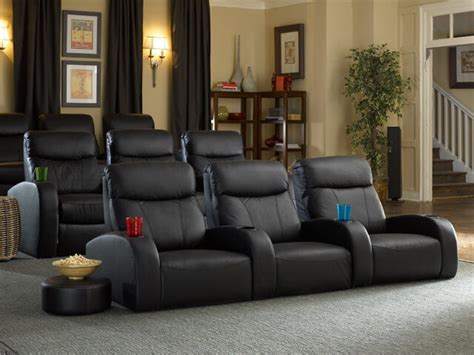 Seatcraft Rialto Front Row Home Theater Seating 4seating