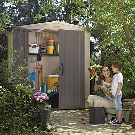 keter 6 x 6 plastic shed keter plastic factor shed 6 x 6 ft wickes co uk