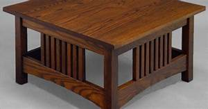 square mission style coffee table for the home With square mission coffee table