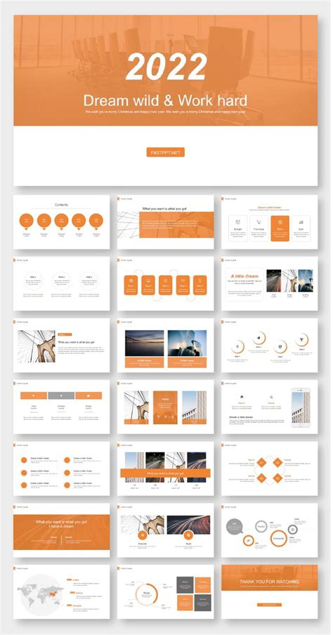 business classic report powerpoint template color codes