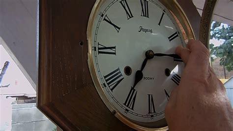 Vintage Spiegel & Co. Key-wound 31 Day Pendulum