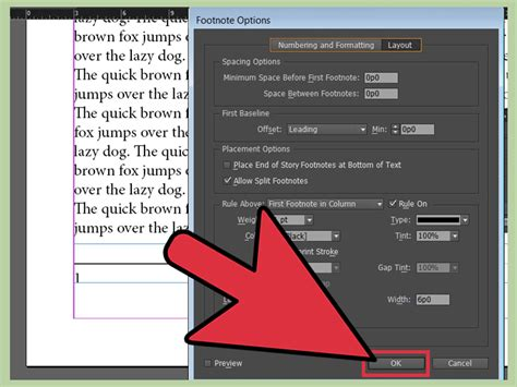 how to add footnotes in indesign 13 steps with pictures