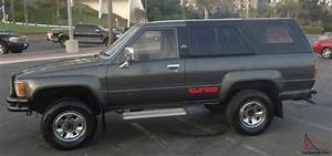 Rust Free 1987 Toyota Hilux Surf Turbo Diesel  Ssr Limited