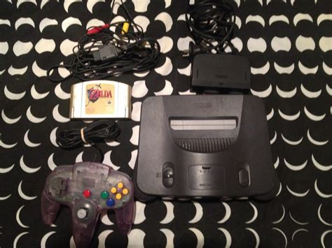 Nintendo 64 With Zelda Ocarina Of Time And Limited Edition