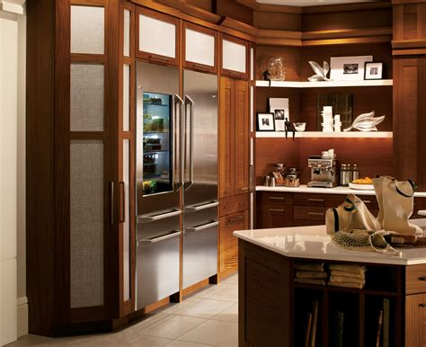 entertaining dream ge   monogram refrigerators offer sleek styling chef inspired
