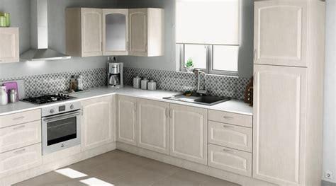 hauteur meuble haut cuisine plan de travail les cuisines brico dépôt