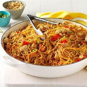 Thai Chicken Peanut Noodles Recipe Taste of Home