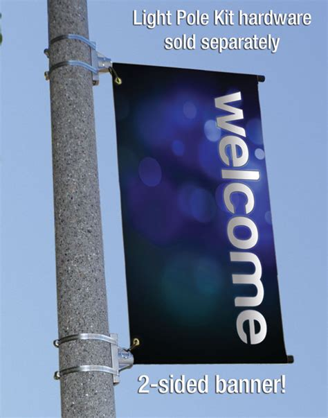 light pole banners church banner light pole banner 2 x 5 outreach marketing