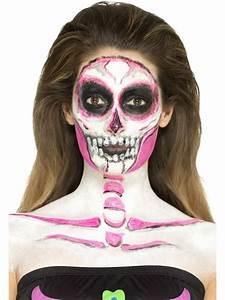 Maquillage Garcon Halloween : maquillage latex squelette phosphorescent femme halloween deguise toi achat de maquillage ~ Farleysfitness.com Idées de Décoration