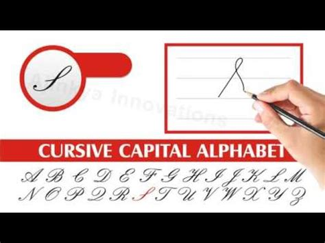 How To Write Cursive Step By Step Easy Method Cursive Capital Letters A To Z Youtube
