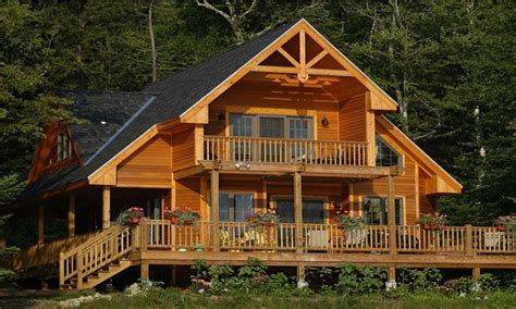 beach house vacation home floor plans vacation house plans  loft lake cabins plans
