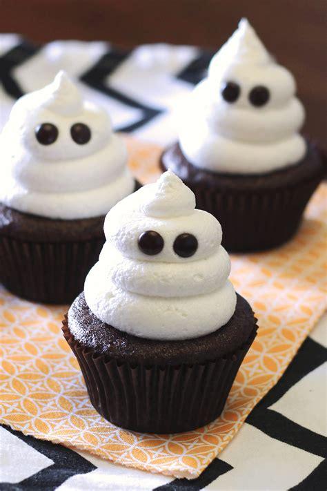 halooween cupcakes gluten free vegan ghost cupcakes sarah bakes gluten free