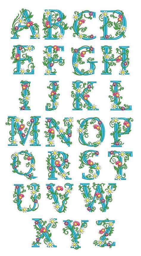 monogrammed apron floral monogram design embroidery monogram machine embroidery designs