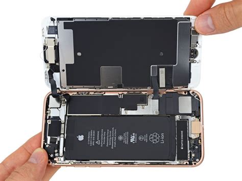 Ifixitが速攻で「iphone 8」を分解、背面ガラスのみの交換は厳しめ? Iphone 6s Silver Fake Unlocking 5s From 3 5 Telus My Ee 6 32gb Apple Plus 360 View Wallpaper Best For Space Grey