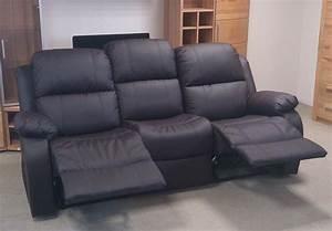 2 Sitzer Mit Relaxfunktion : sofa lakos 3 sitzer polsterm bel in braun mit relaxfunktion neu eur 618 00 picclick de ~ Indierocktalk.com Haus und Dekorationen
