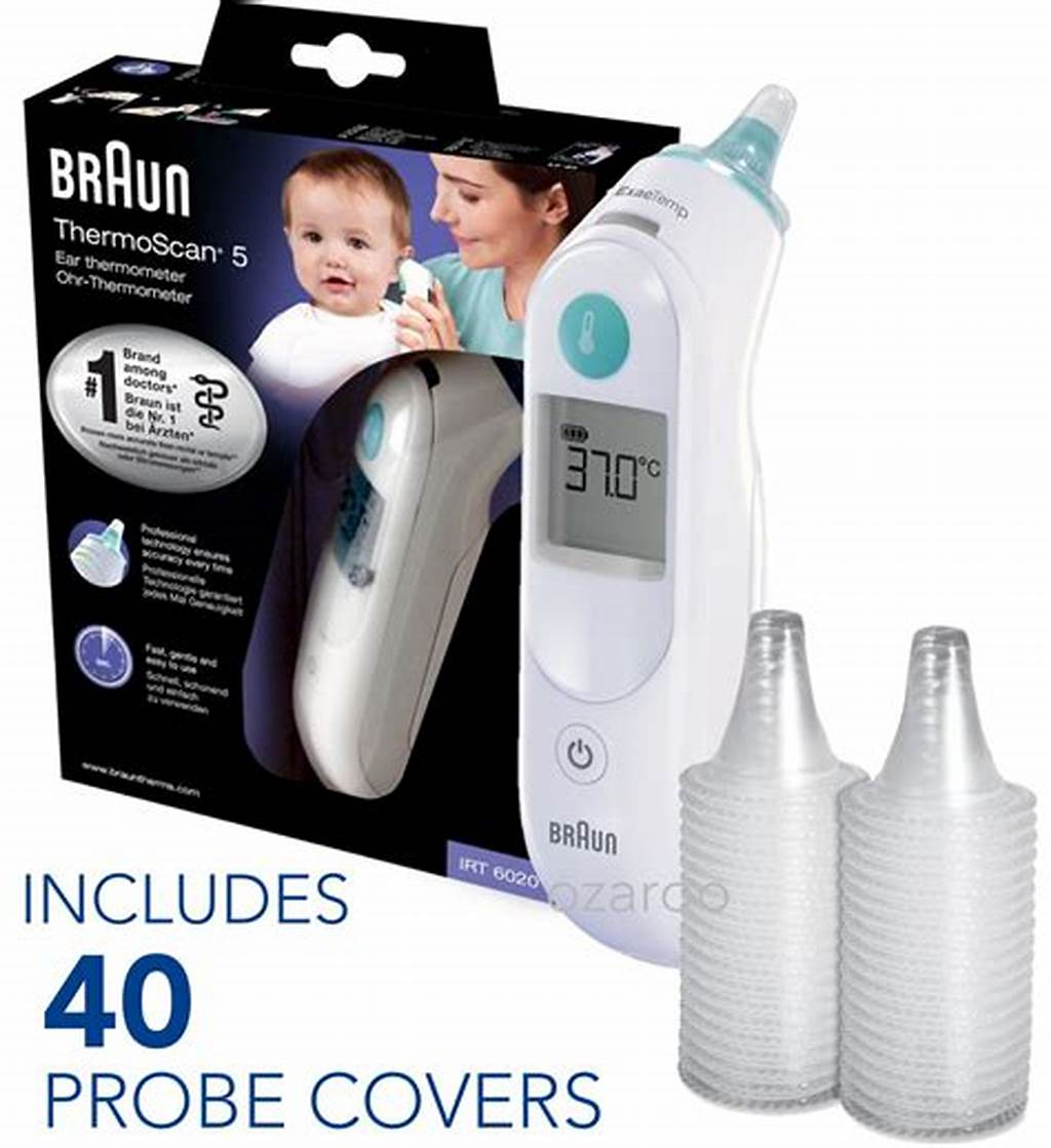 #New #Braun #Thermoscan #5 #Irt6020 #Baby #Digital #Ear