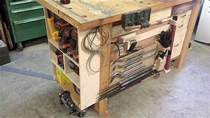 Build Modular Workbench Storage With French Cleats