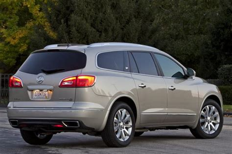 gmc acadia   buick enclave whats