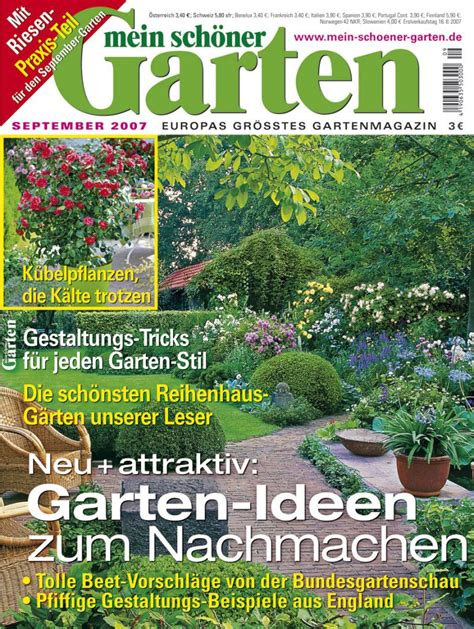 Mein Schöne Garten by Mein Sch 246 Ner Garten Abo Ch