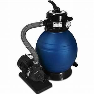 Filtre A Sable : pompe filtre sable et particule 10200 l h avec pompe ~ Melissatoandfro.com Idées de Décoration