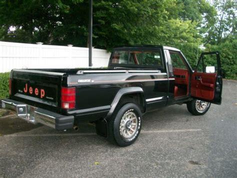 1986 jeep comanche 4x4 find used 1986 jeep comanche x new 3 4 v6 standard cab